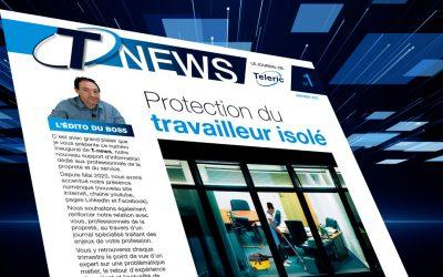 INFOS : Teleric lance T-NEWS, journal spécialisé du secteur de la propreté