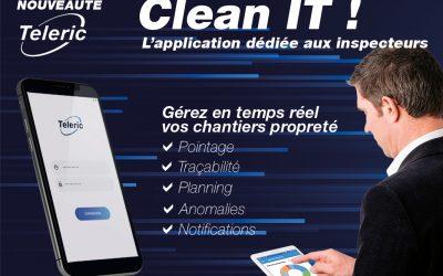 NOUVEAUTÉ : Clean iT, l'application dédiée aux inspecteurs