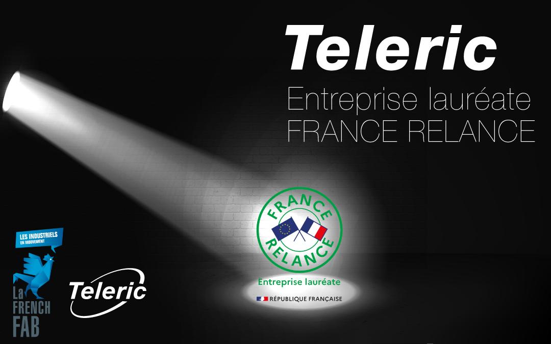 TELERIC LAURÉATE FRANCE RELANCE